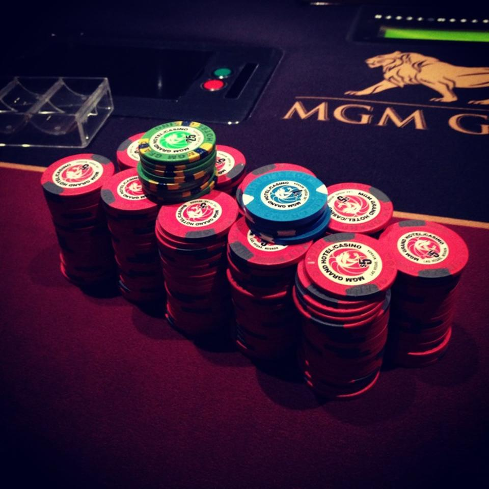 MGM Grand Chips
